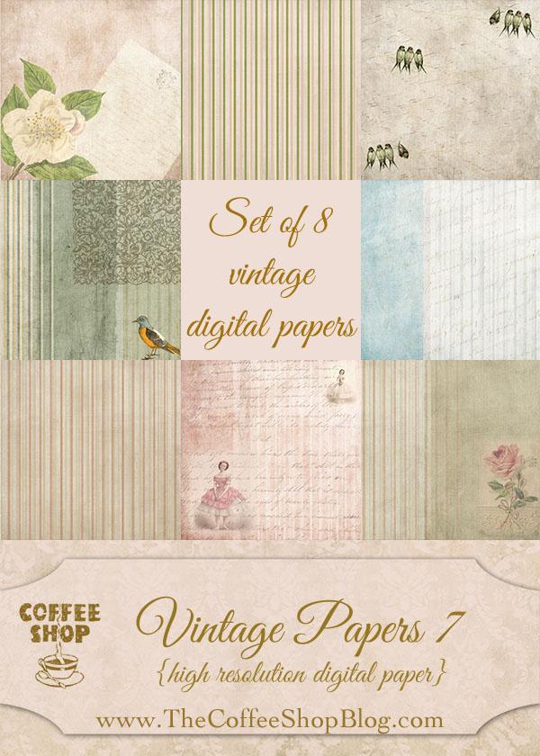 Vintage Papers 06