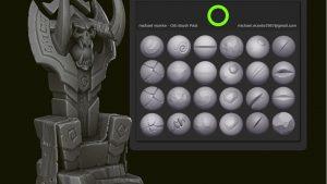 BlizzardのアーティストがZbrush用のブラシパックを公開!無料だぞ!