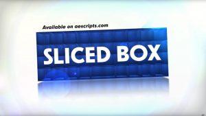 映像をスライスして3DアニメーションさせるAEプラグイン「Sliced Box」!