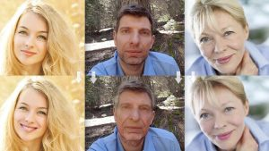 もう仏頂面なんて言わせない!?顔写真を笑顔や若返った顔などに自動加工するアプリ「FaceApp」!!
