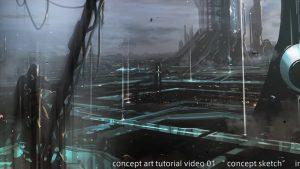 コンセプトアートの描き方チュートリアル!「INEI」のアーティストが壮大な作品を作りながら解説!