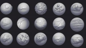 激安!「トゥームレイダー」シリーズのスタジオ「 Crystal Dynamics」背景アーティストがZBrushのブラシセットを販売中!