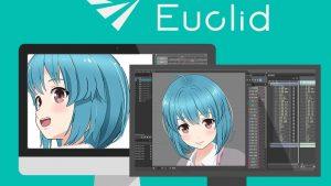 2D作画がそのまま3D空間で動く!?新たな表現ツール『Live2D Euclid 』が4月26日に発売!