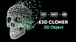 複雑なアニメーションも一発!AEプラグイン「Element 3D」用のスクリプト「E3D Mografter FX」!!