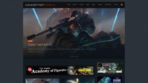 ゲーム、映画、出版物など様々なコンセプトアートを紹介するサイト「Concept Art World」が凄い!(; ・`д・´)
